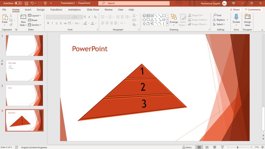 PowerPoint excel luka kobeščak